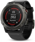Garmin Fenix 5X Sapphire Gray Optic,Black band